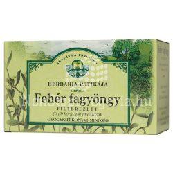 Herbária Fehér fagyöngy borítékolt filteres tea 20x1g