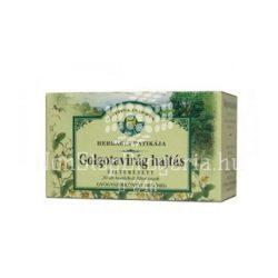 Herbária Golgotavirág hajtás borítékolt filteres tea 20x1g