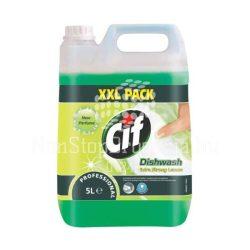 Cif Professional Dishwash Extra Strong Lemon mosogatószer 5L