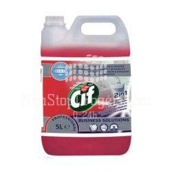 Cif Professional Washroom 2in1 szaniter tisztítószer, vízkőoldó 5L
