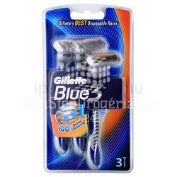 GILLETTE BOROTVA BLUE3 3DB eldobható