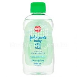 Johnsons Baby babaolaj 200ml-ALOE