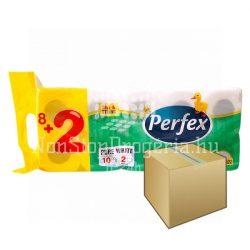 Perfex WC papír 2rétegű 10 tekercs 12DB-OS KARTON ÁR