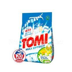 Tomi mosópor 20mosás 1,4kg Max effect Zöldtea&Jázmin