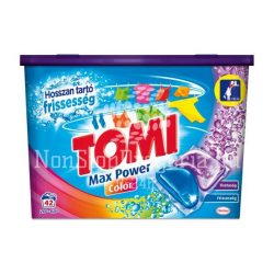 Tomi MAX power mosókapszula 42db Color