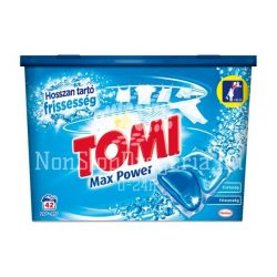 Tomi MAX power mosókapszula 42db White