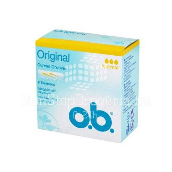 OB TAMPON 8DB ORIGINAL NORMAL