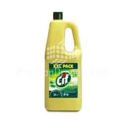 CIF professional folyékony súroló 2 L lemon