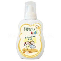 Herba Kids kézmosó hab (kamilla és körömvirág)citromsárga 250ml