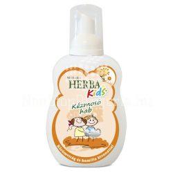 Herba Kids kézmosó hab (kamilla és körömvirág)narancs 250ml