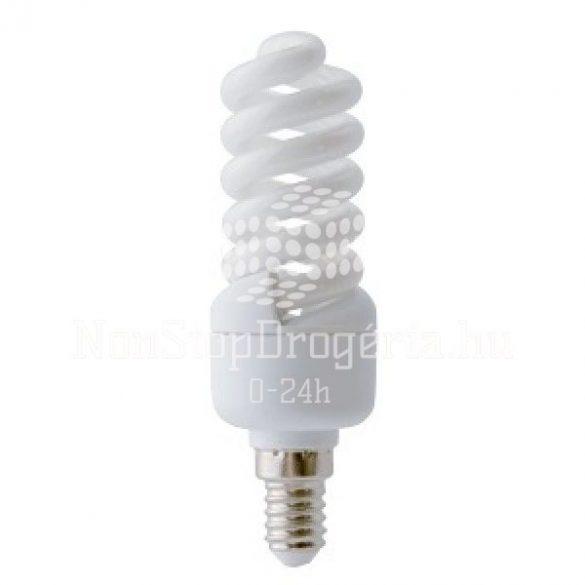 Kompakt fénycső, mini spirál 7w