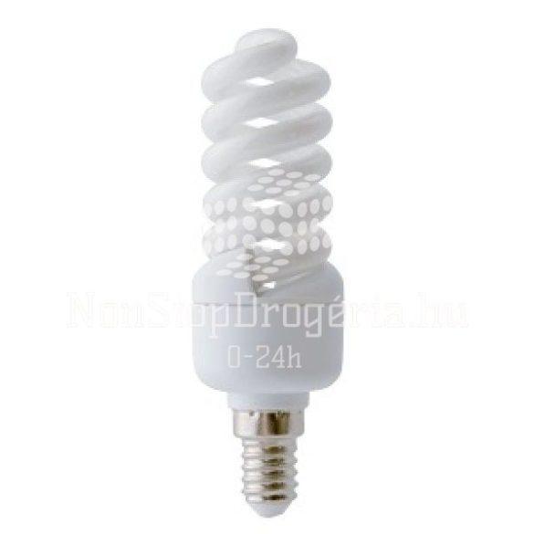 Kompakt fénycső, mini spirál 9w
