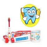 Gyermek fogkefék és fogkremek