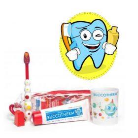 Gyermek fogkefék és fogkrémek