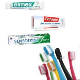 Felnőtt fogkefék és fogkrémek