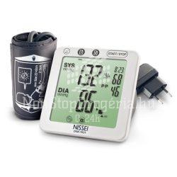 NISSEI DSK-1031 Automata felkaros vérnyomásmérő hálózati adapterrel