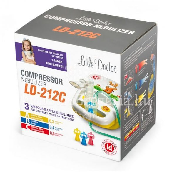 Little Doctor LD-212C Kompresszoros inhalátor