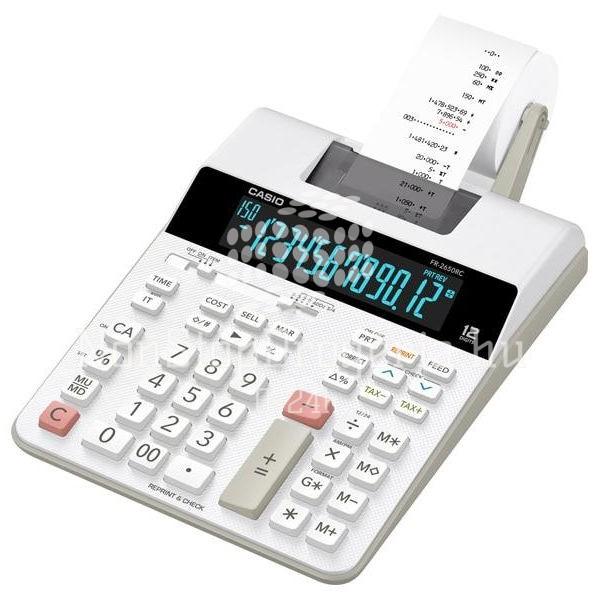 Számológép Casio FR-2650T szalagos asztali